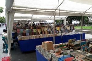 Feria del libro en el Parque Central