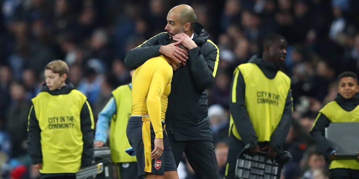 No se rinde: Josep Guardiola aún espera sumar a Alexis Sánchez al Manchester City