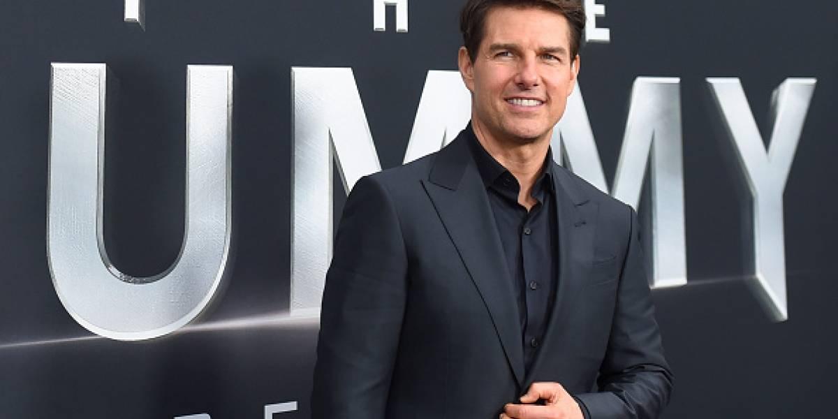 Tom Cruise paraliza centro de Londres