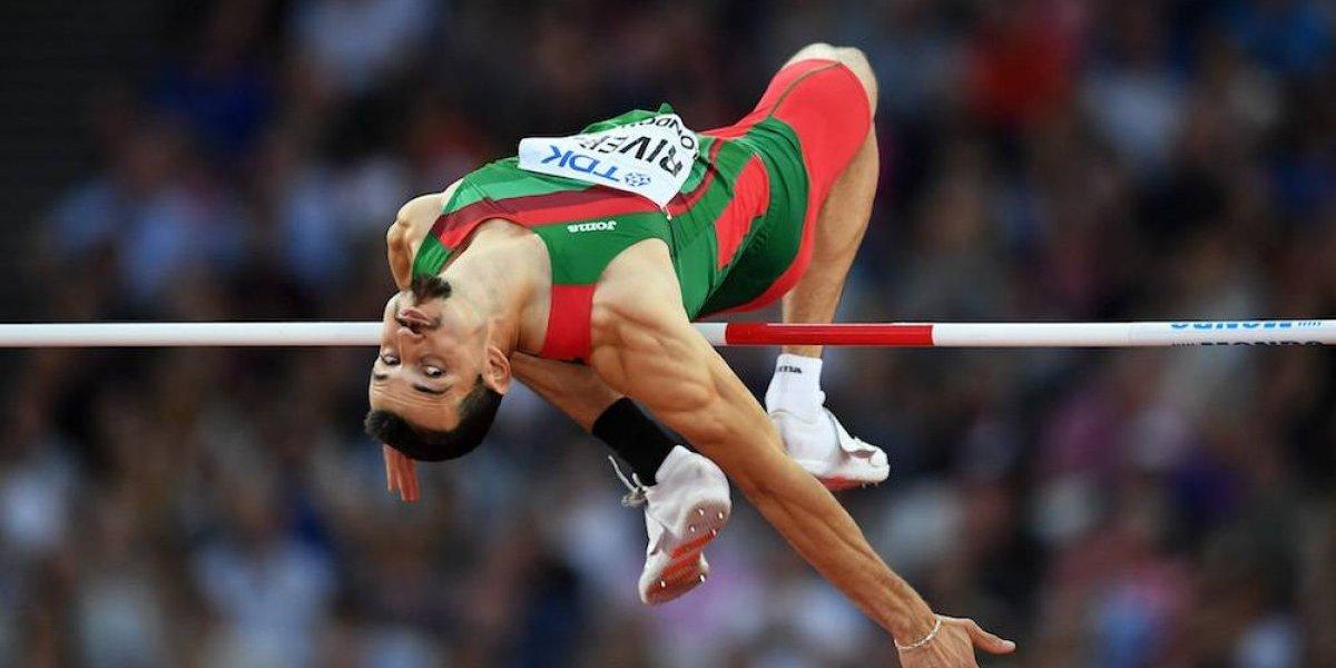 Edgar Rivera se queda a un paso del podio en salto de altura