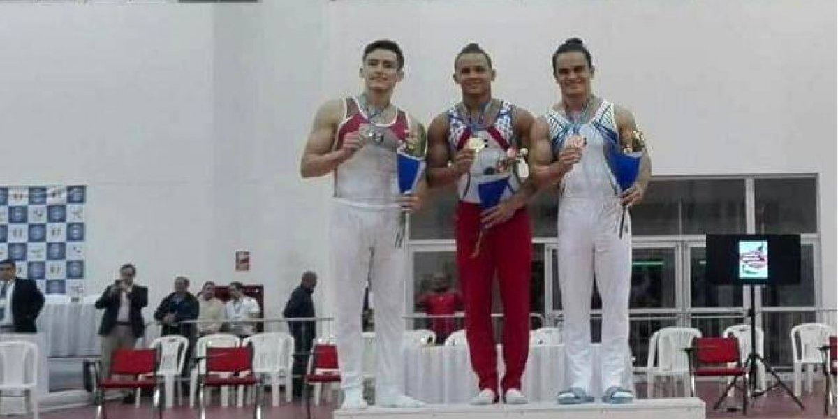 Audrys Nin Reyes gana dos oros en campeonato gimnasia