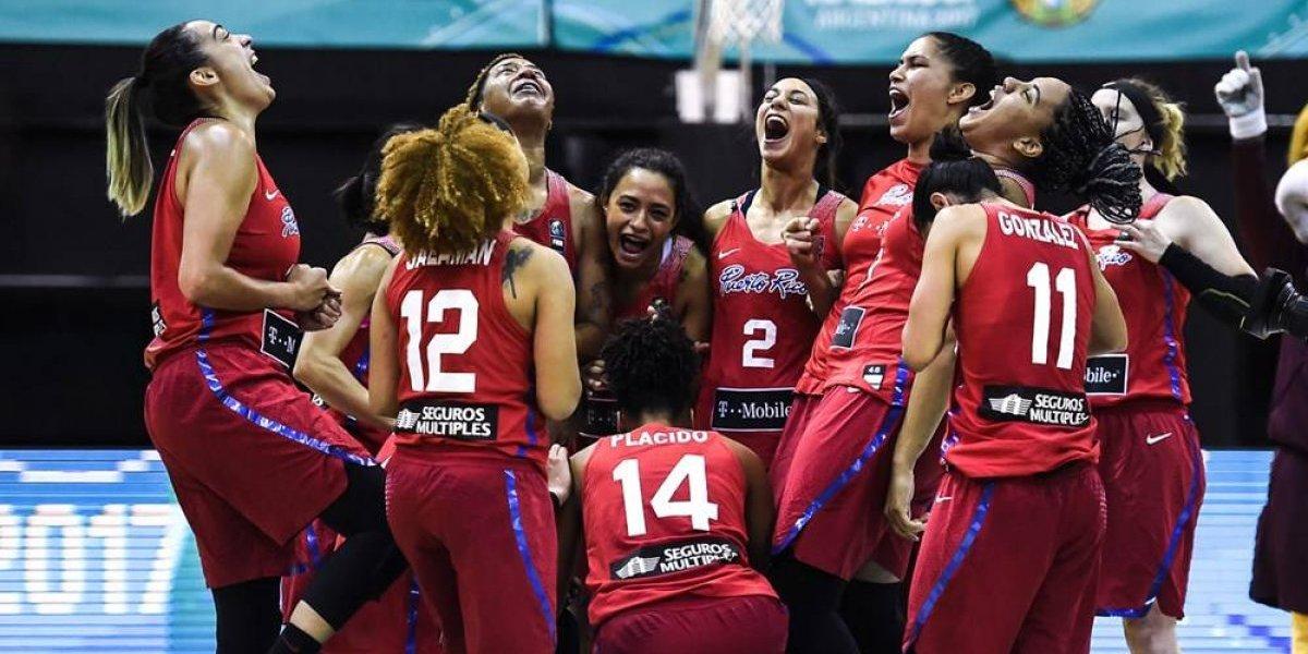 Puerto Rico gana bronce y clasifica al Mundial Femenino de FIBA 2018