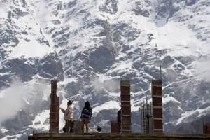 Lluvias en los Himalayas