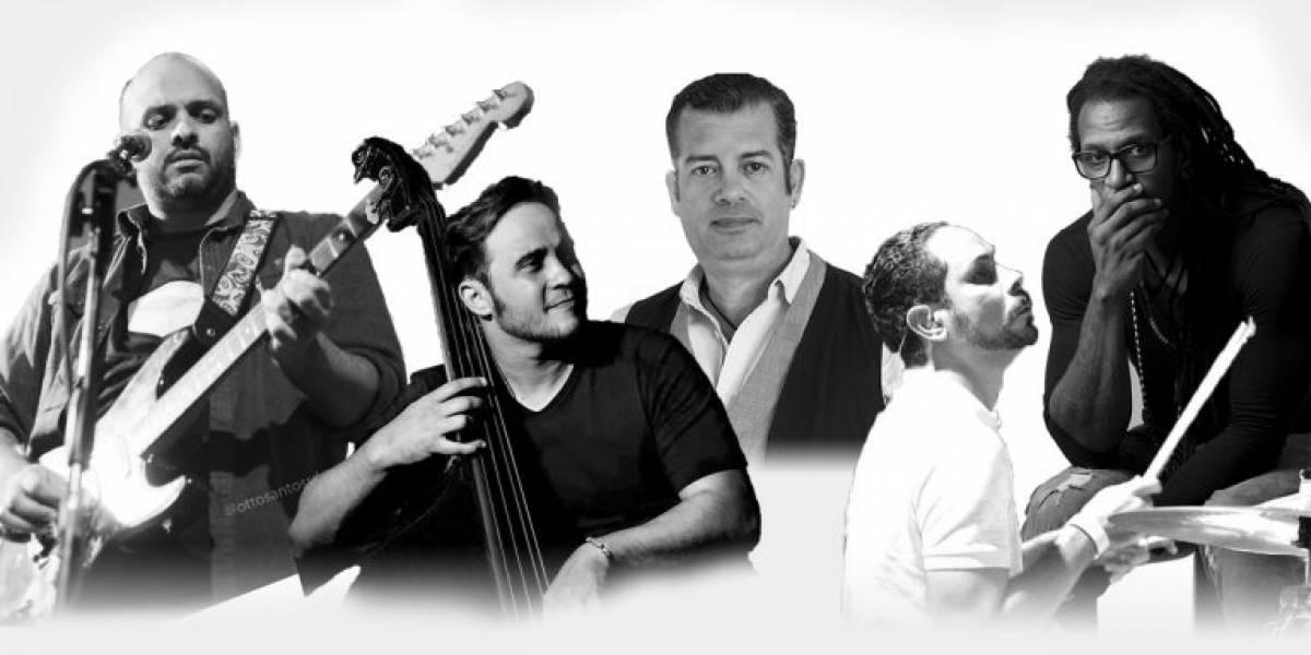 "Tony Almont, Luinis Quezada, Luichy Guzmán y David Vázquez, en homenaje a ""The Police"""