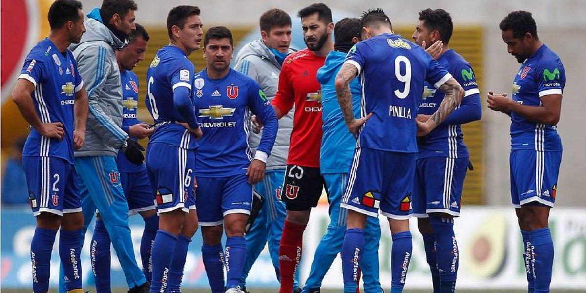 La U sufrió un duro tropezón en la cancha de Quillota con dos golazos de San Luis