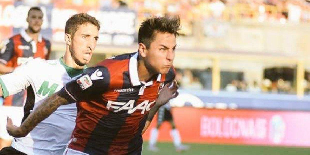 Pulgar jugó todo el compromiso en derrota de Bologna ante equipo de segunda división por Copa Italia