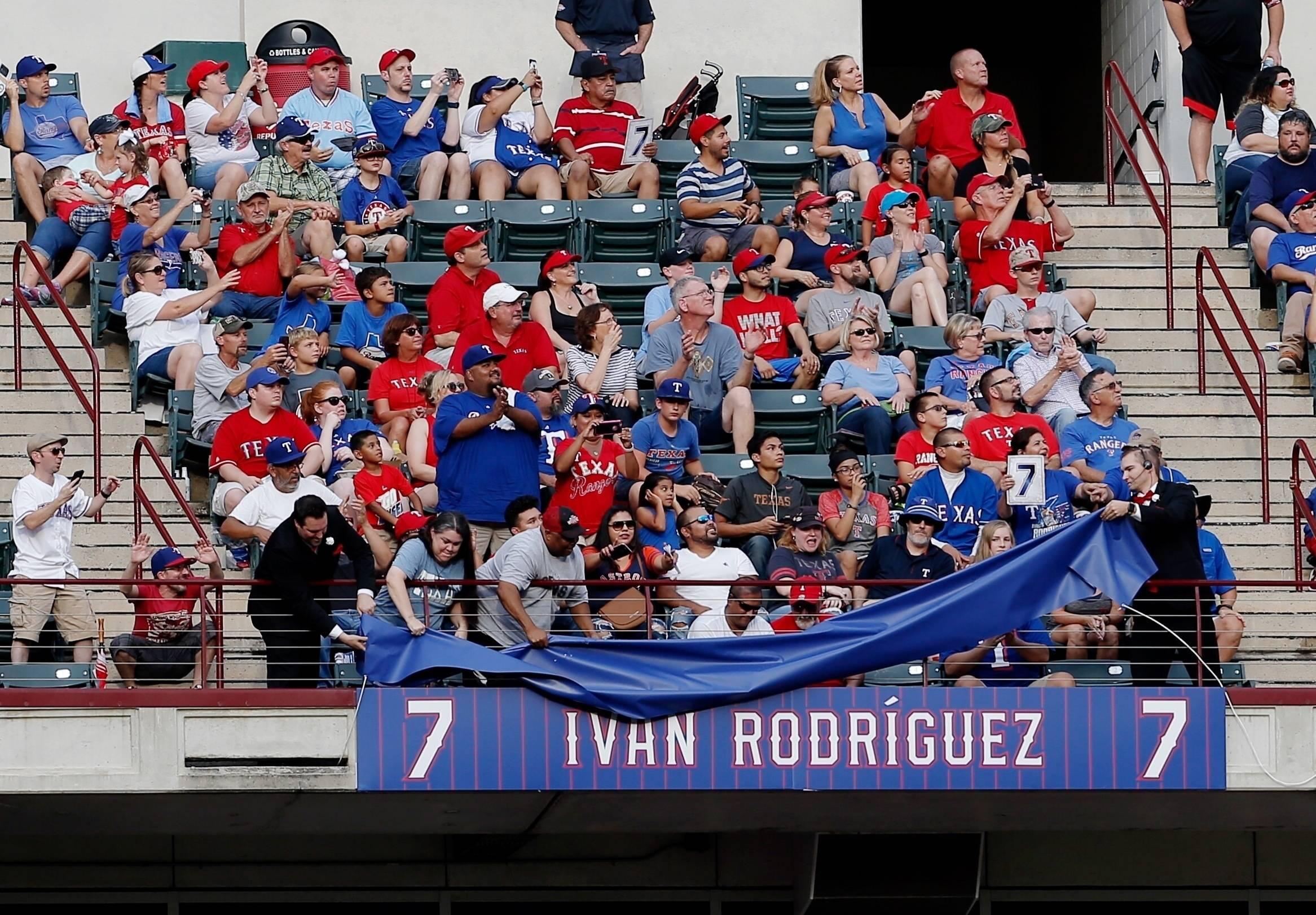 Rangers Pudge Jersey Baseball