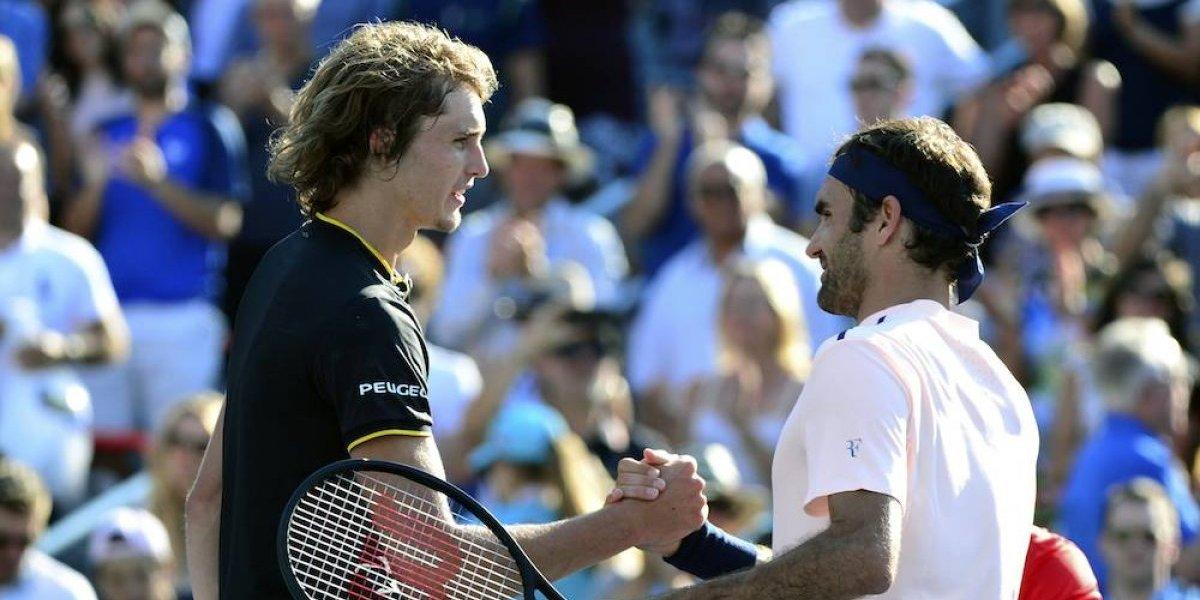 Federer cae ante Zverev en la final de la Rogers Cup