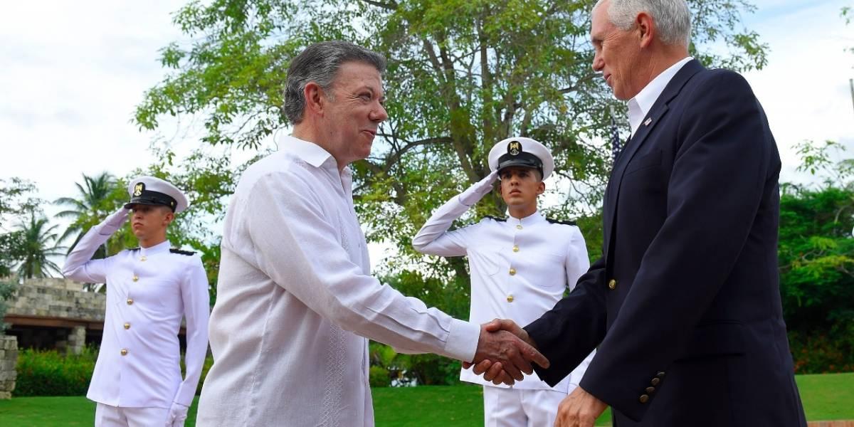 Vicepresidente estadounidense está en Cartagena en reunión con Santos
