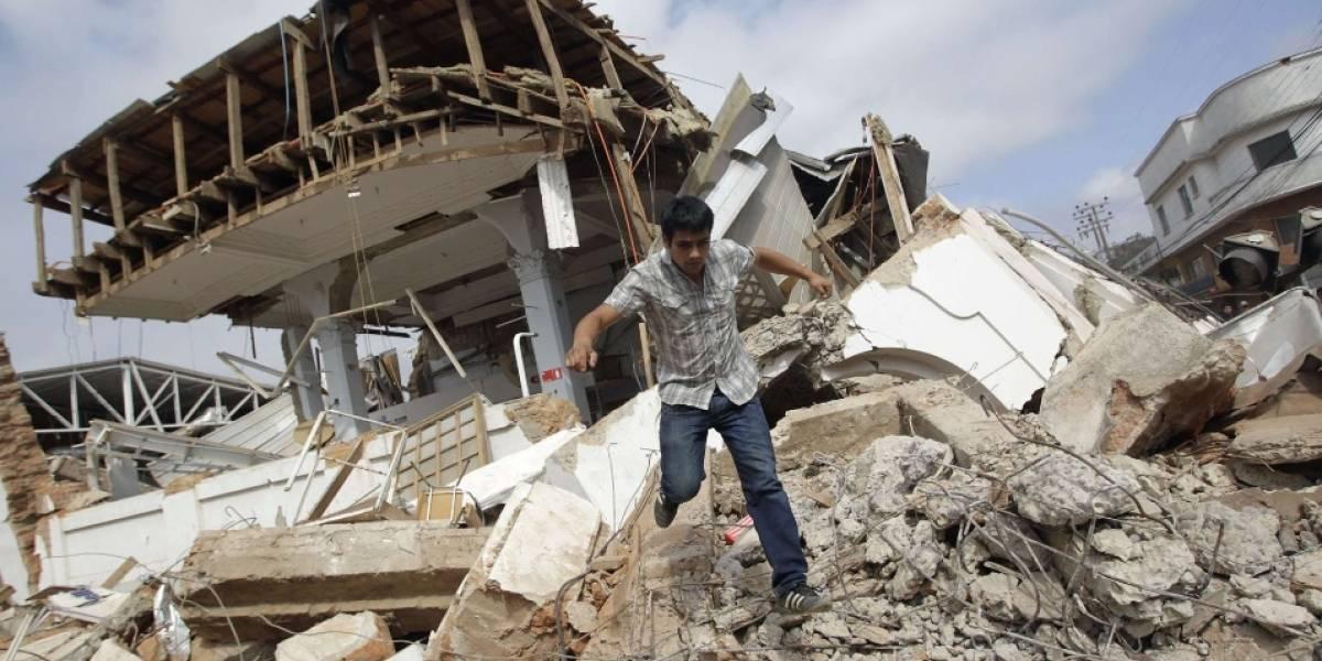 ¿Sabes cómo actuar durante un terremoto de gran escala?