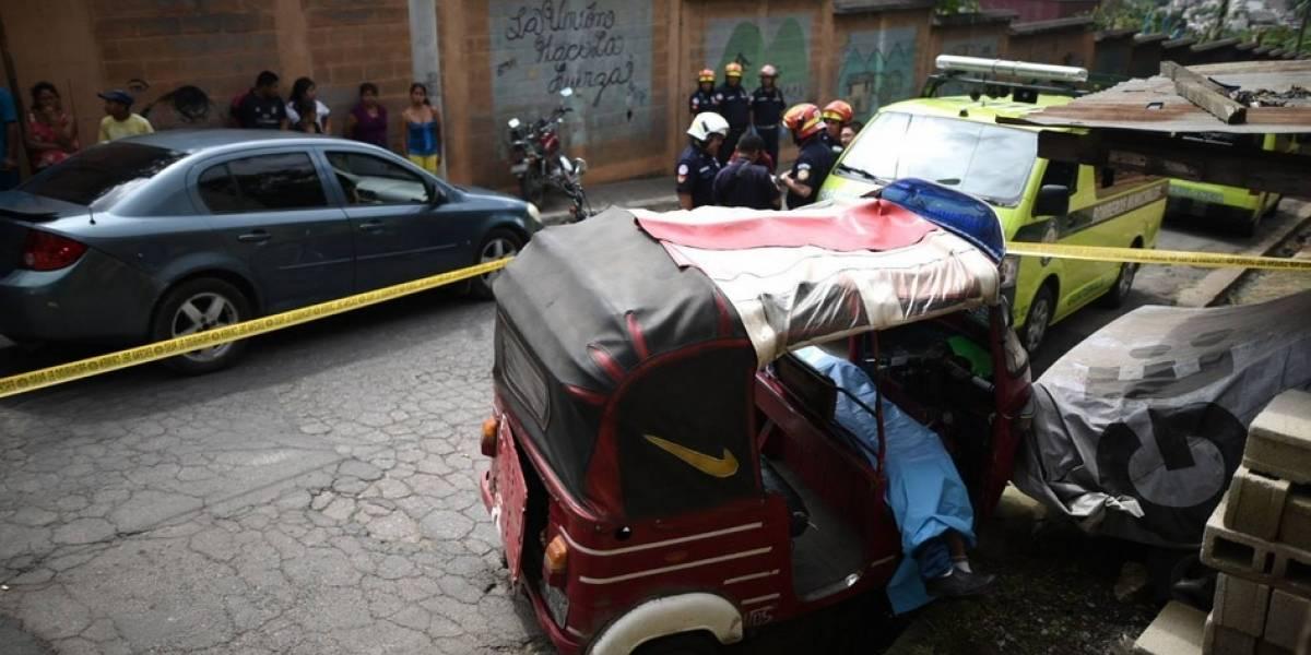 Piloto  de tuc tuc en Canalitos muere baleado