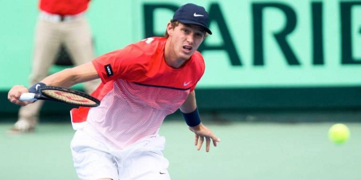 Jorge Montero se despidió en primera ronda del Challenger de Santo Domingo