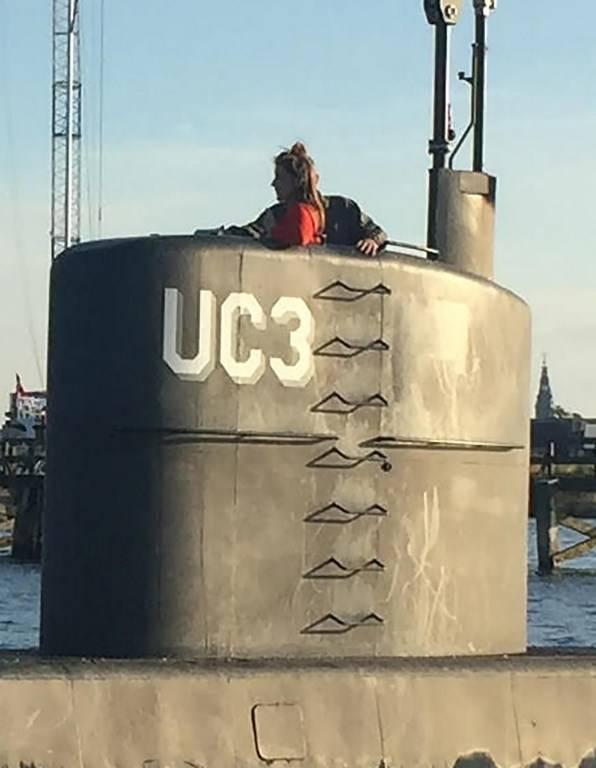 Submarino Kim Wall