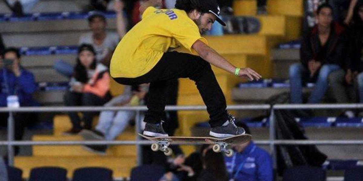 Ecuatoriano ganó medalla de oro en Panamericano de Skateboarding en Colombia
