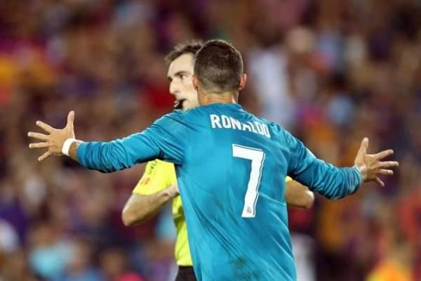 Cristiano Ronaldo, cinco partidos de suspensión