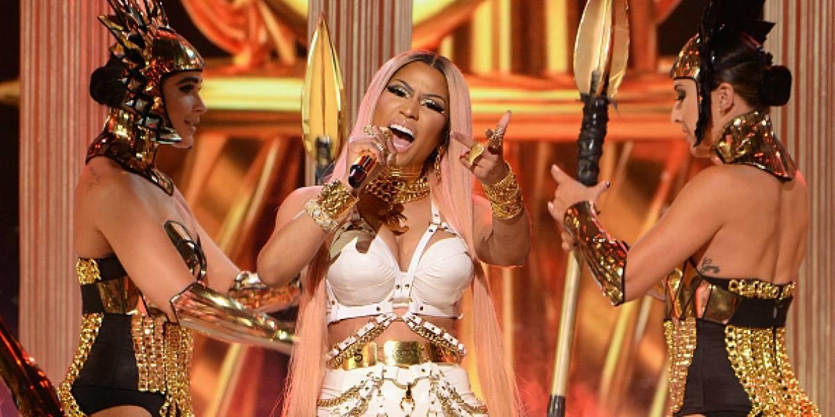 Nicki Minaj enloqueció a sus seguidores con selfie