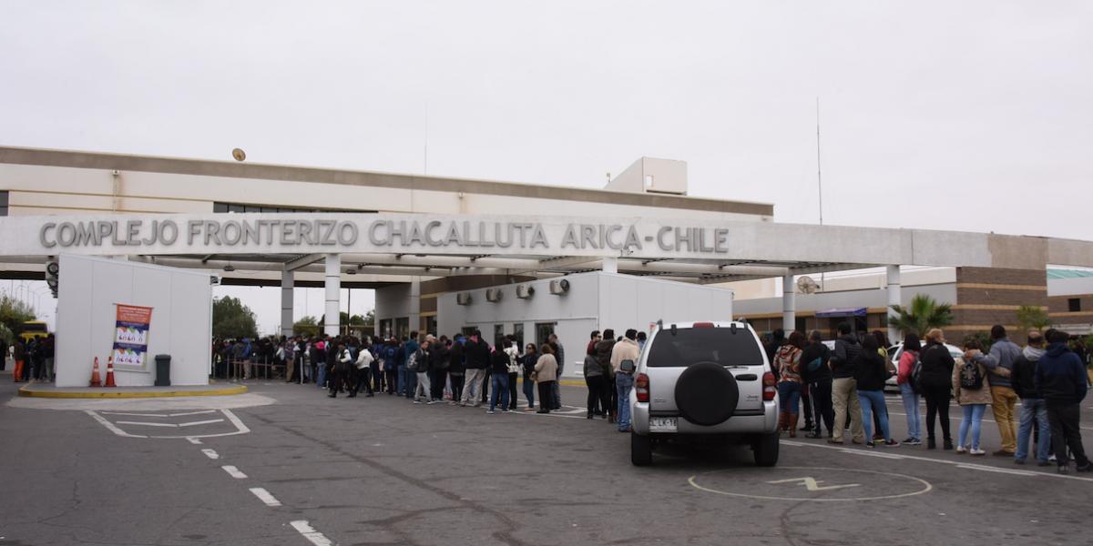 Este miércoles comienza a operar control fronterizo integrado Arica-Tacna