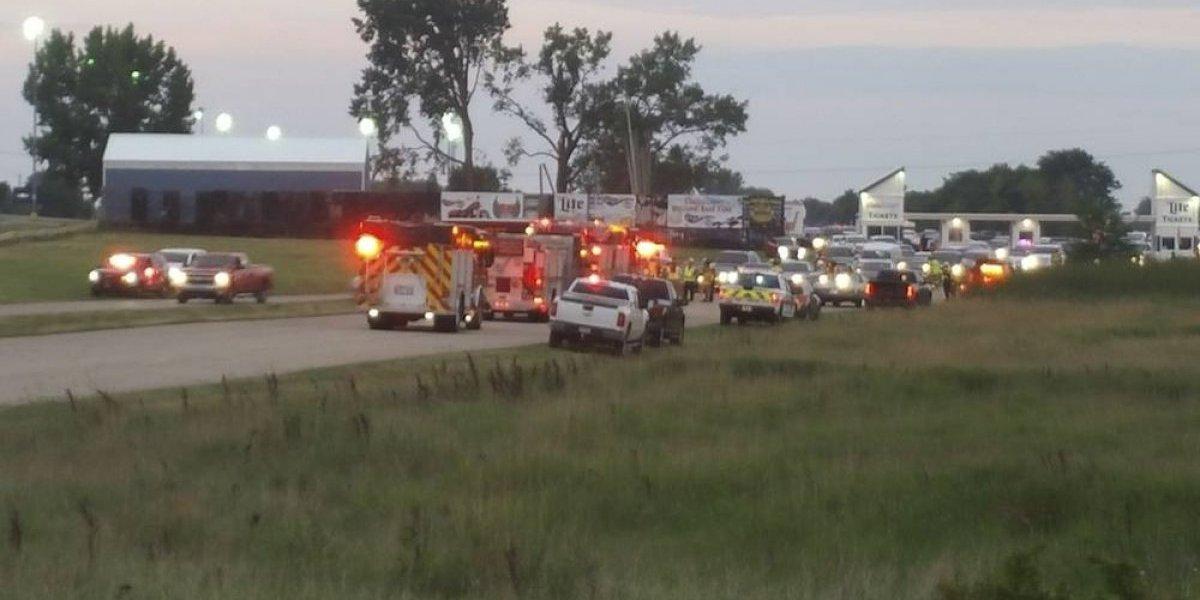 Tres muertos durante tiroteo en evento automovilístico