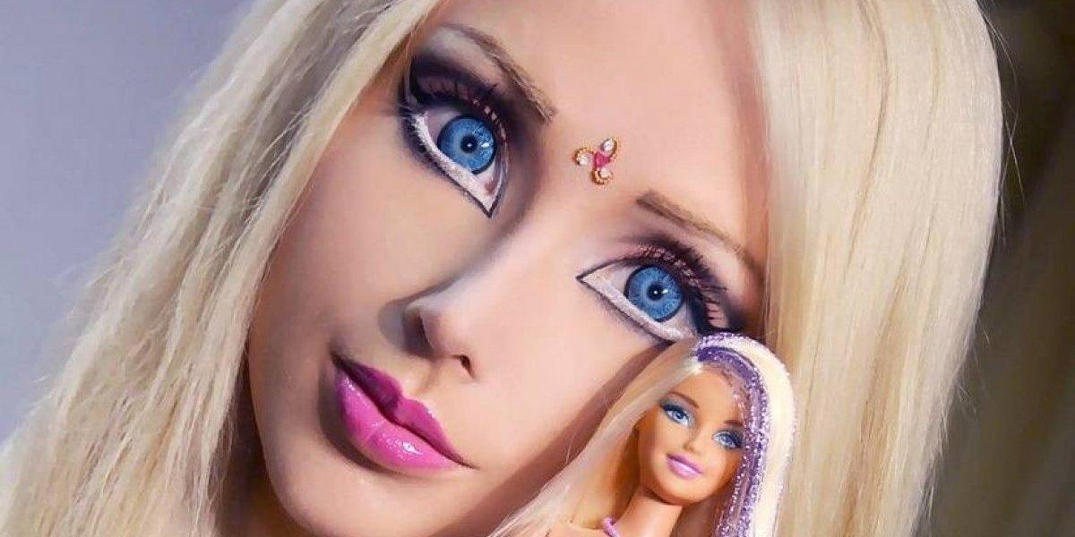La Barbie humana se cansa de su apariencia y así luce ahora