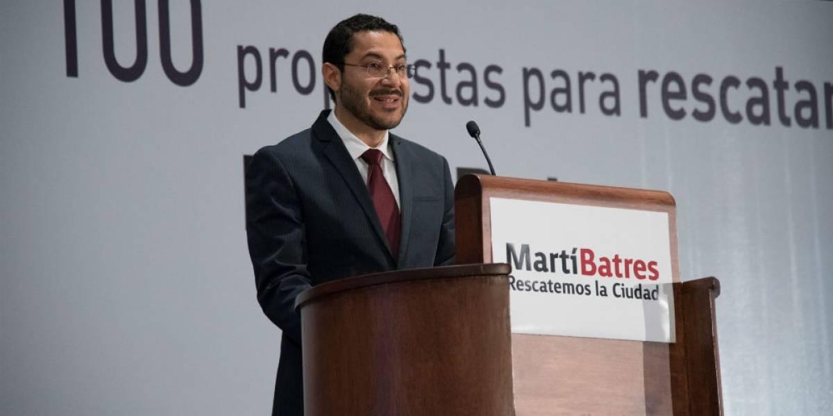 Martí Batres y sus 100 propuestas para rescatar la ciudad