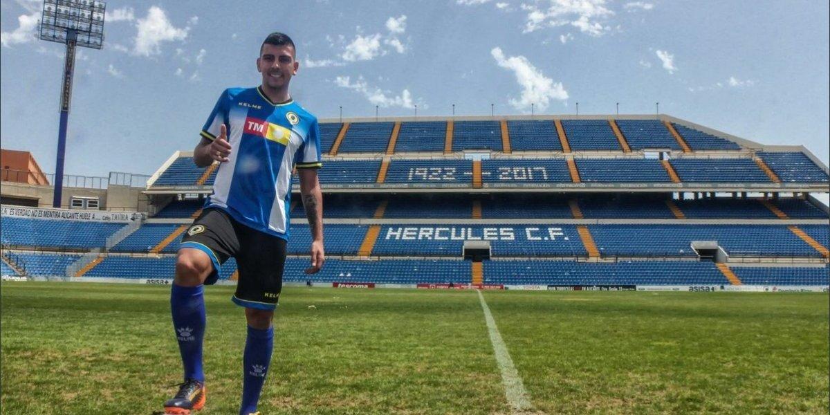 Ex jugador de U. de Conce deja Granada para reforzar a equipo de Tercera División en España