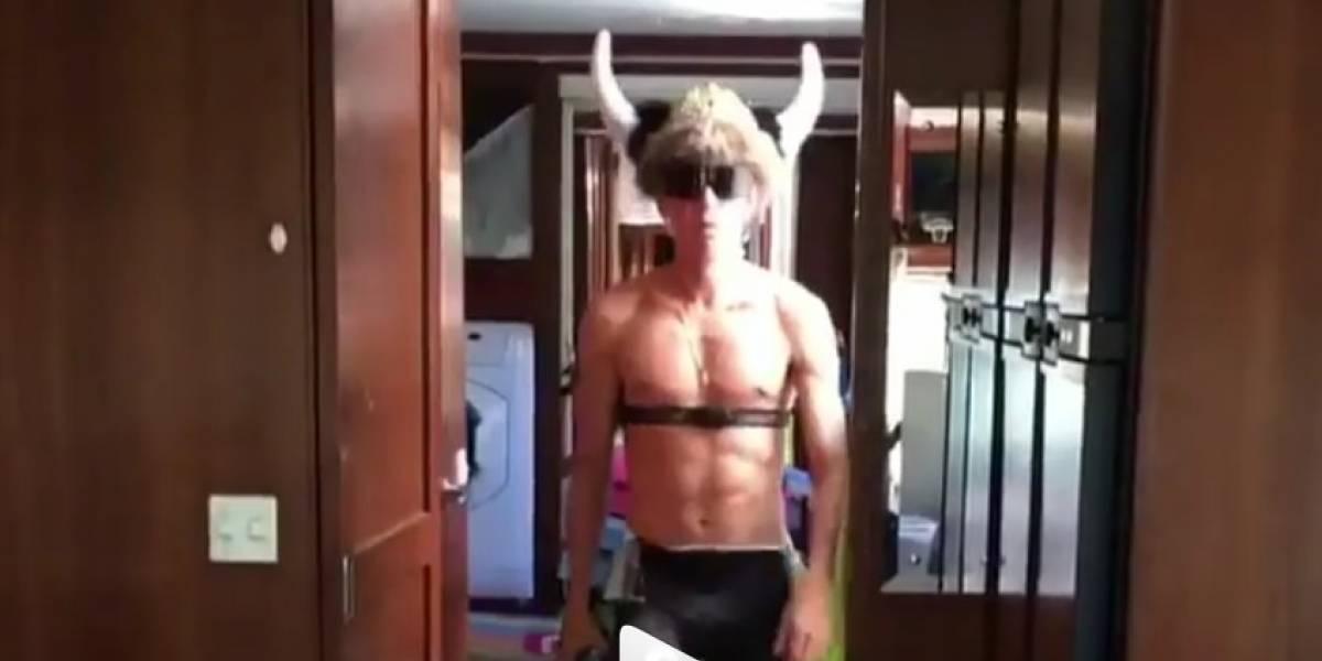 (Video) Rigoberto Urán celebró con un baile su nuevo contrato