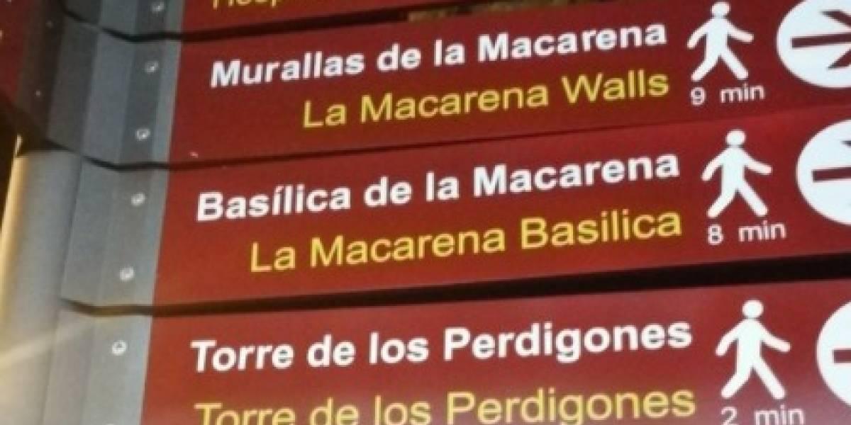 Intentaron traducir al inglés un cartel turístico en España y todos se burlaron del resultado