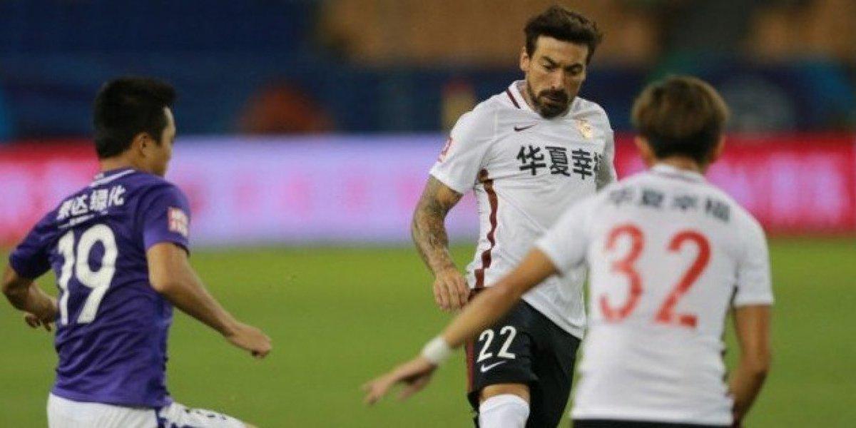 Hebei de Pellegrini se prende en China gracias a la brillante actuación de Ezequiel Lavezzi