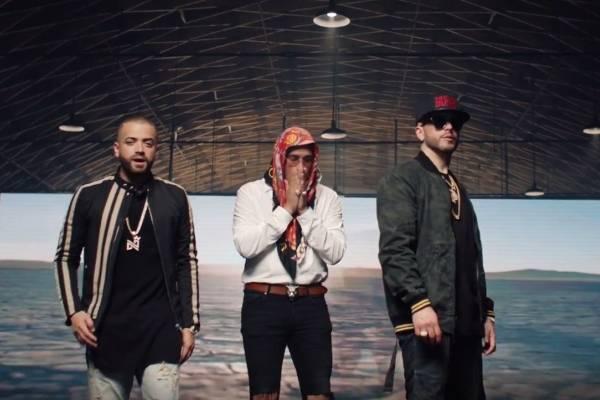 Nacho, Yandel y Bad Bunny estrenaron video del tema 'Baílame'