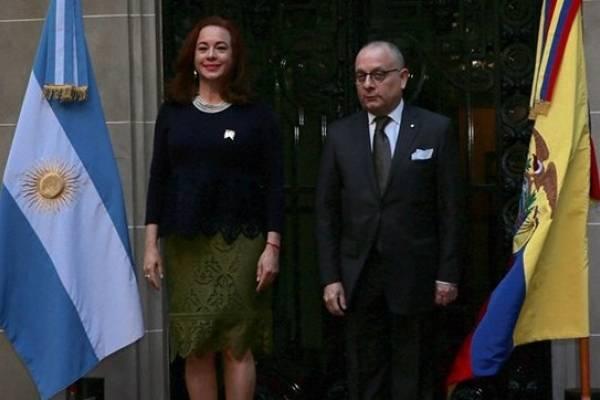Argentina y Ecuador reafirman relaciones en reunión de cancilleres