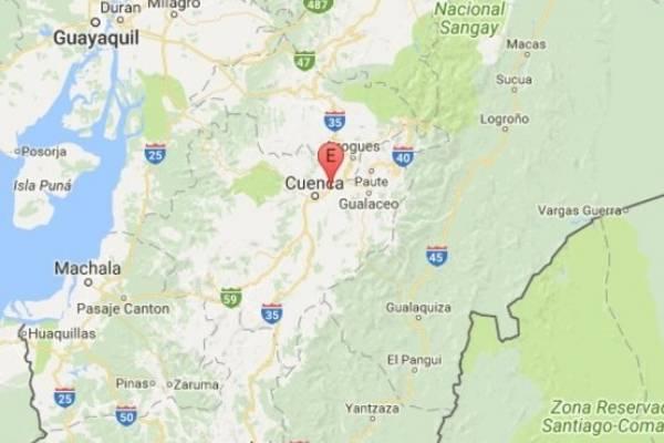 Un sismo se registró en Cuenca