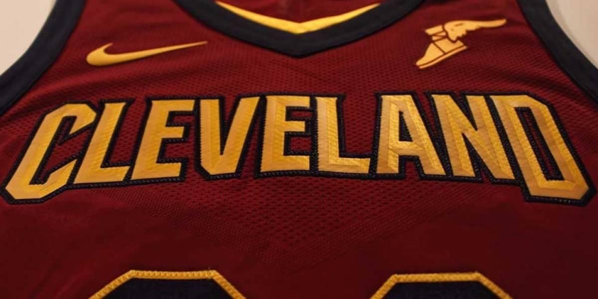 Así luce Goodyear en la camiseta de los Cavaliers