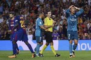 Cristiano Ronaldo dejó al Madrid con diez