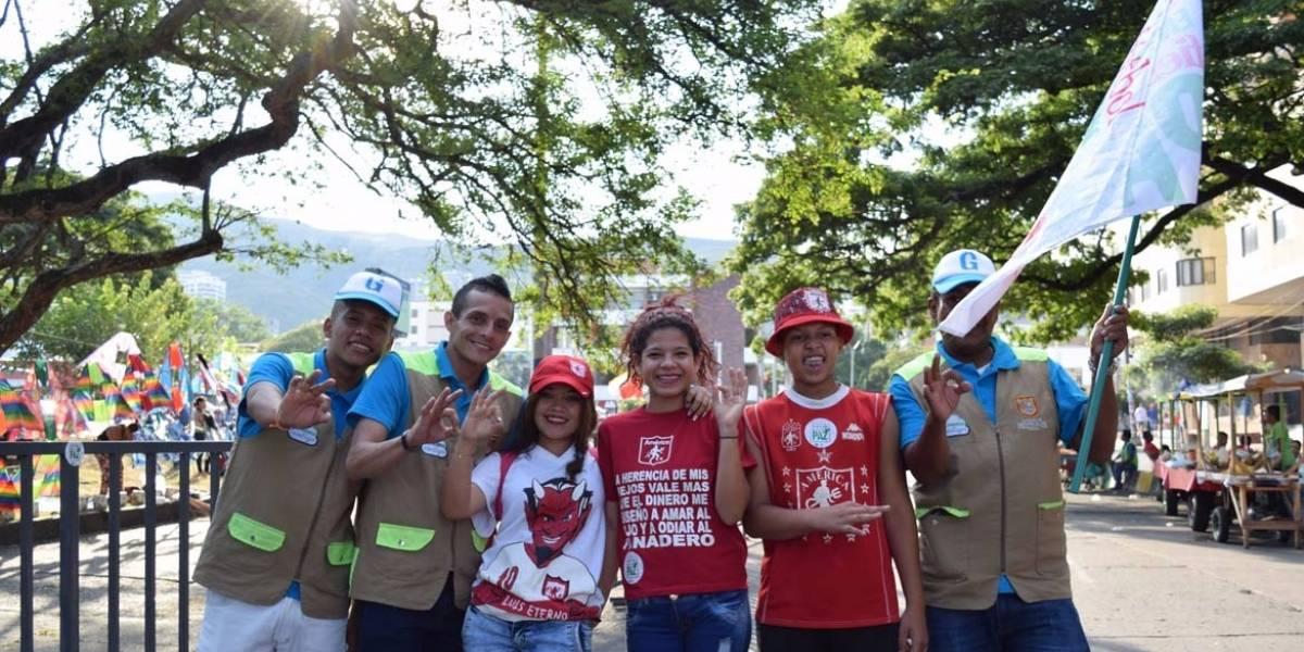 Hinchas del América brillaron por su buen comportamiento en el Pascual Guerrero
