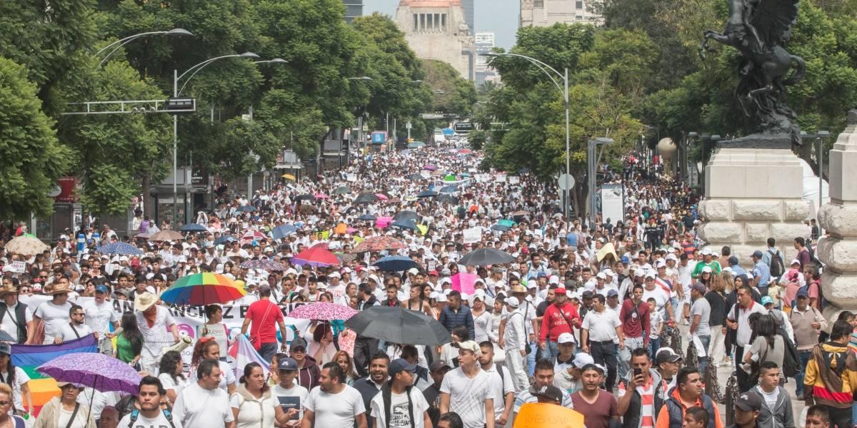 Marchas y concentraciones afectarán vialidades en la CDMX
