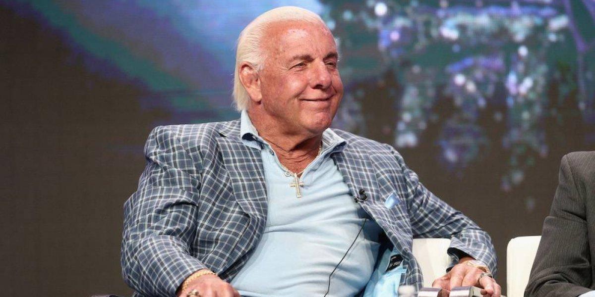 Ric Flair es hospitalizado por 'severos problemas de salud'