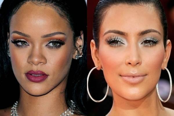 Rihanna y Kim Kardashian