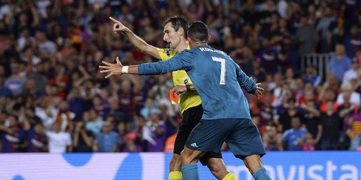 Cristiano Ronaldo es suspendido cinco partidos por su expulsión en el clásico
