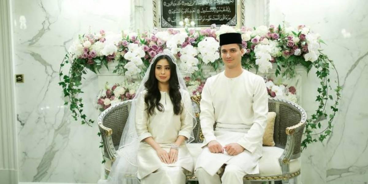 Así fue la lujosa boda de la hija de uno de los sultanes más poderosos de Malasia