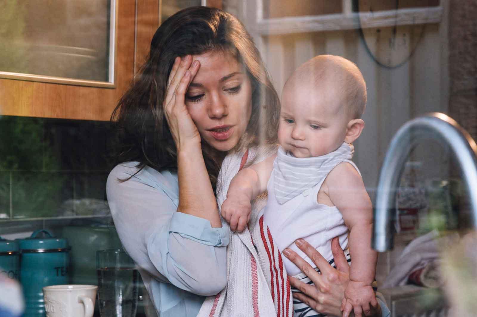 El 'síndrome de la mamá cansada'