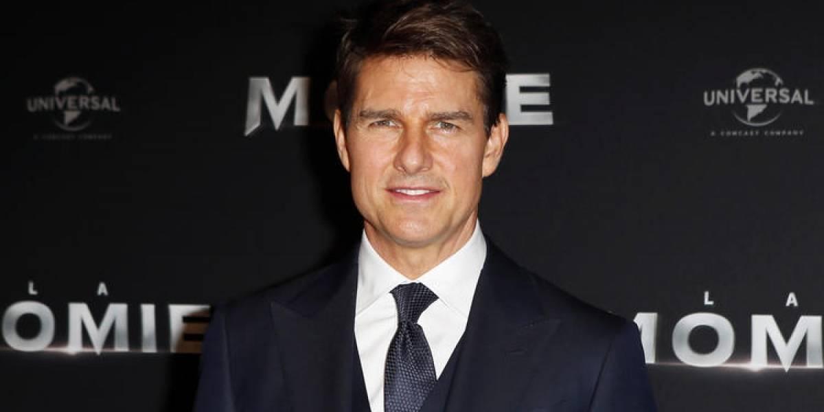 """El video del accidente de Tom Cruise durante el rodaje de """"Misión Imposible 6"""""""