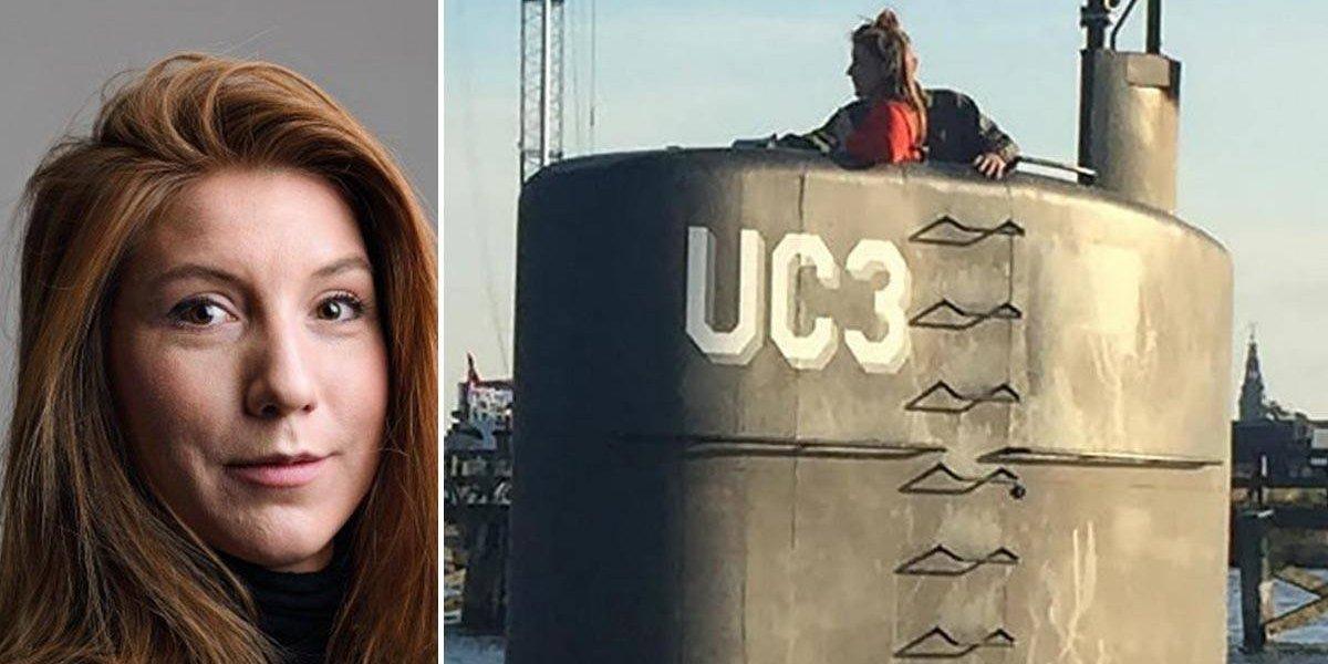 Periodista desaparecida en submarino: hallan parte de un cuerpo en zona de búsqueda