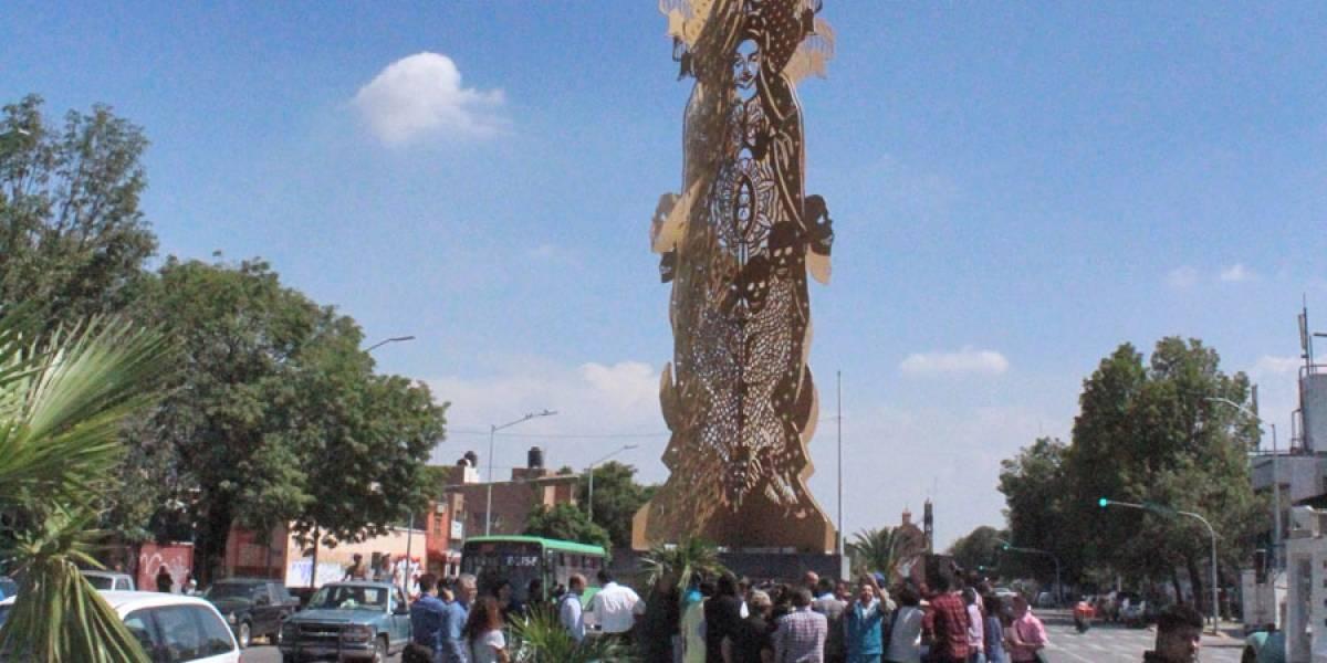 Inauguran segunda pieza de polémico programa de arte urbano en Guadalajara