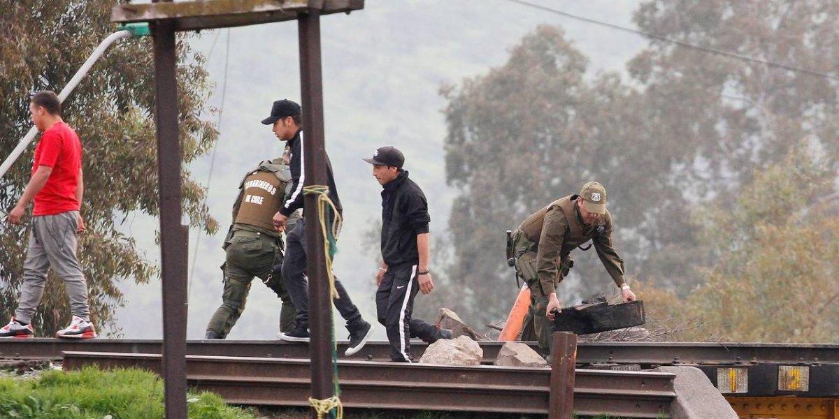 "Til Til: Ferrocarriles del Estado se querellará por robo de seis metros de rieles del ""tren de la basura"""
