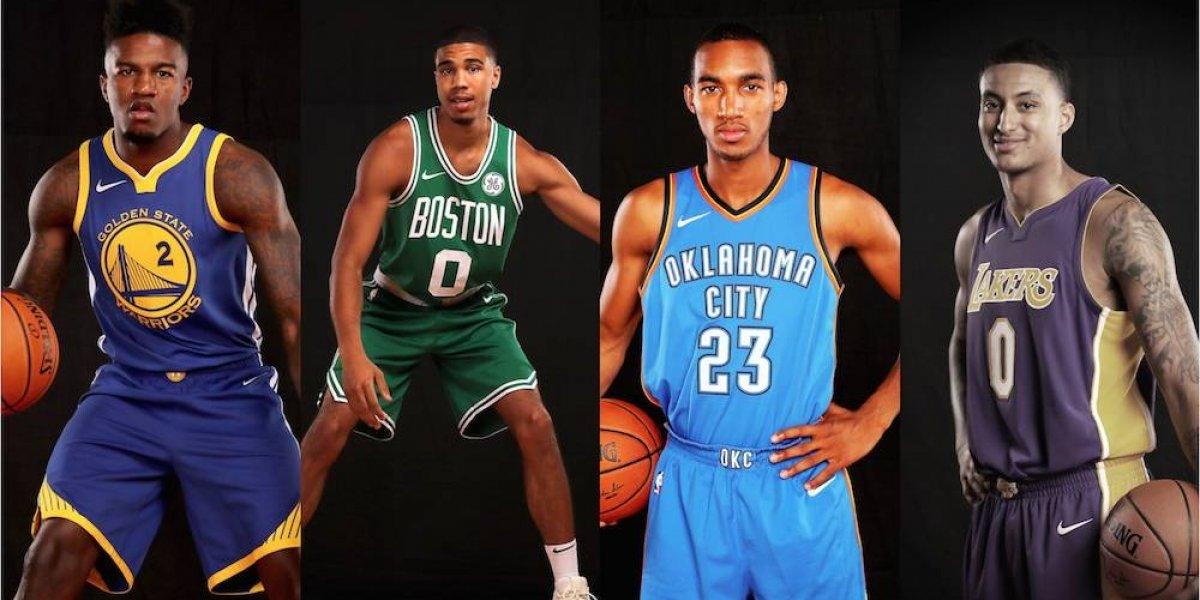 FOTOS: Así serán los nuevos uniformes de los equipos NBA hechos por Nike
