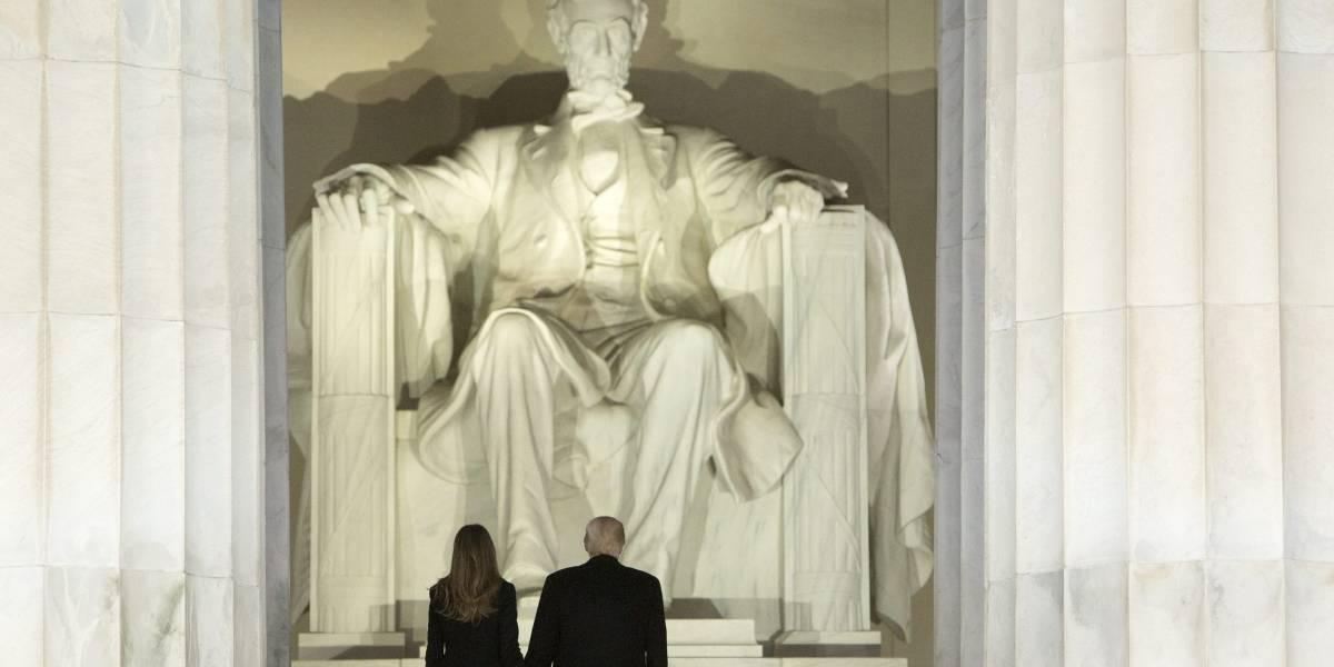 Vandalizan el emblemático Monumento a Lincoln en Washington