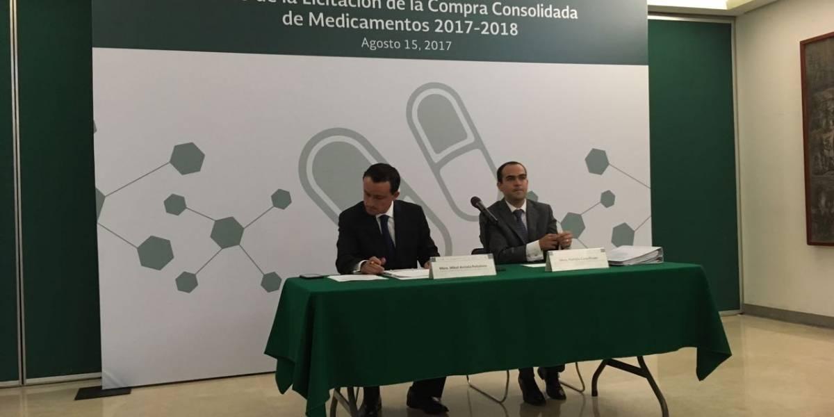 Busca IMSS blindar licitación de compra de medicamentos