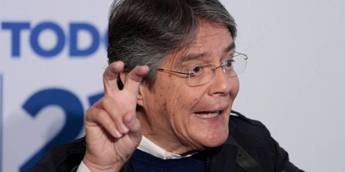 Guillermo Lasso: Lo único que se refinó fue el dinero