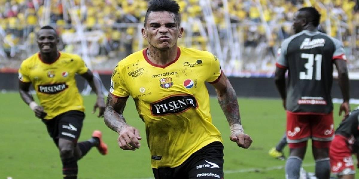 Jonathan Álvez, ¿ya fue sancionado en Barcelona SC?