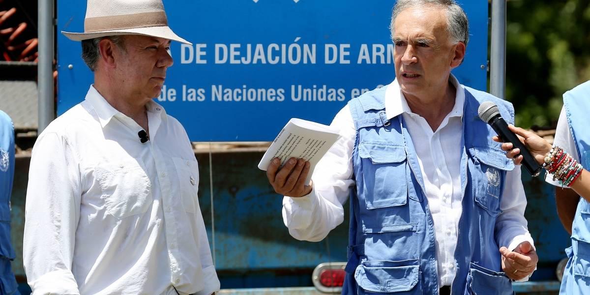 La ONU confirma que las Farc entregaron 8.112 armas